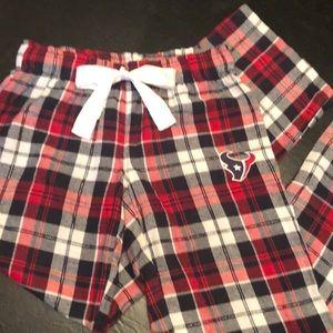 🏈Comfy, Texans Plaid Pajama Pants